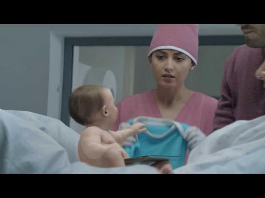 MTS Film Ad -  Internet Baby