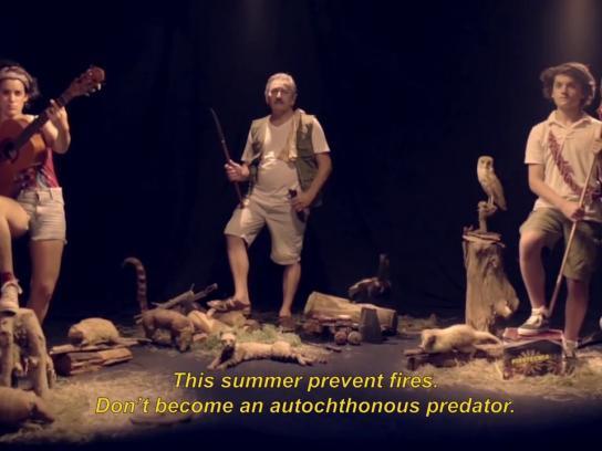 Dirección Nacional de Bomberos Film Ad - Depredadores autóctonos