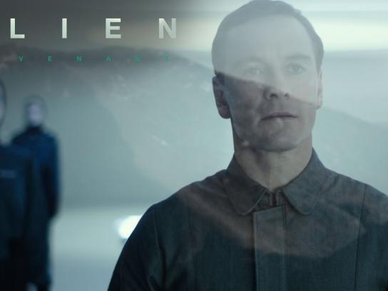 Alien Film Ad - Meet Walter