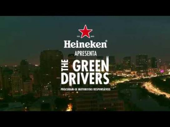 Heineken Experiential Ad - The Green Drivers