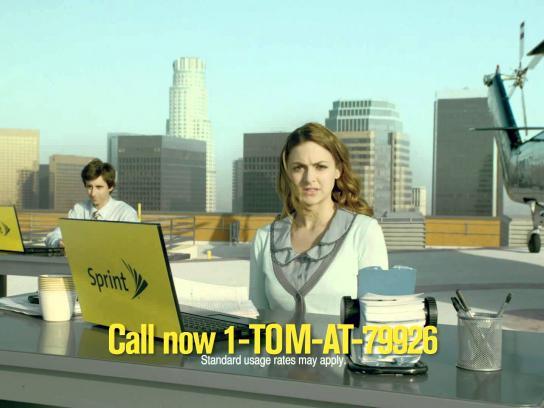 Sprint Film Ad -  Helipad