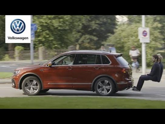 Volkswagen Experiential Ad -  The new Tiguan Allspace with optional third row
