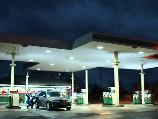 McDonald's Film Ad -  Petrol pump