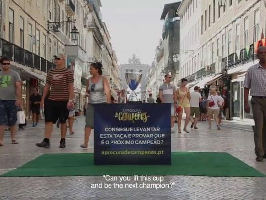 Ford Ambient Ad -  Looking for Champions