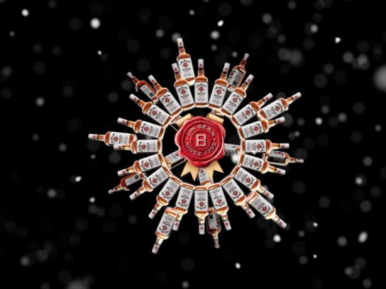 Jim Beam Outdoor Ad -  Light up the holidays
