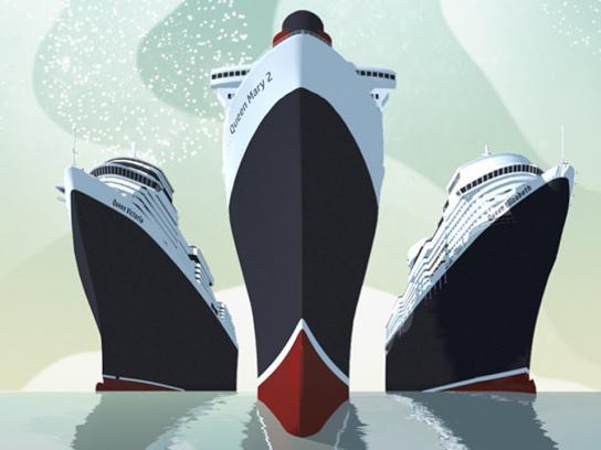 Cunard Digital Ad -  Forever Cunard