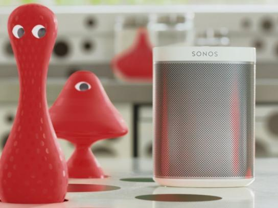 Sonos Film Ad -  Pop art