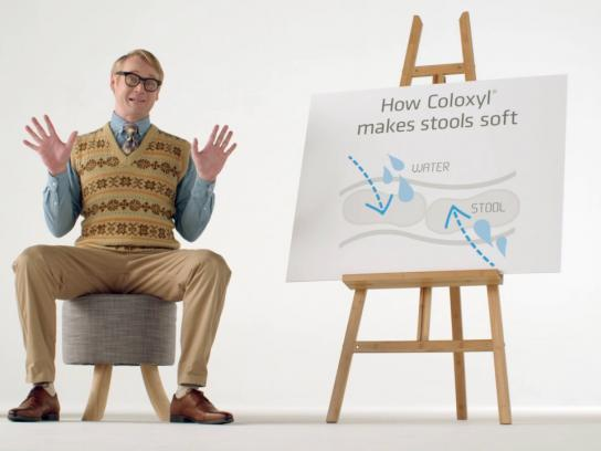 Coloxyl Film Ad - Stefan the Stool