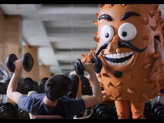 Schick Film Ad -  Stop the Irrito!, The Gym