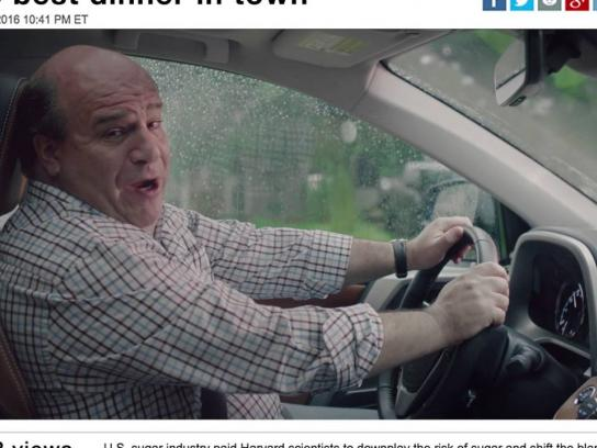 Toyota Digital Ad - Skip dad handsfree
