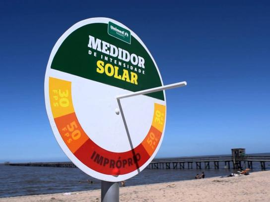 Unimed Ambient Ad -  Solar Intensity Meter
