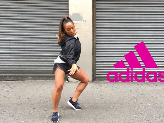 Adidas Digital Ad -  Here to create - Nicole Winhoffer