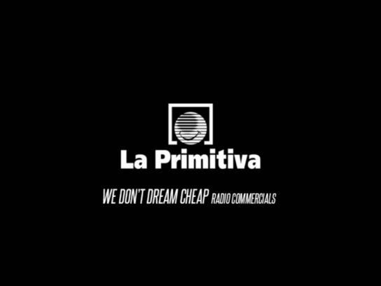 La Primitiva Lottery Audio Ad -  We don't dream cheap