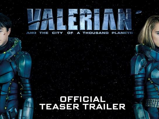 Valerian Film Ad - Valerian and the City of a Thousand Planets