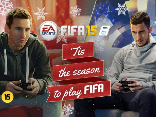 FIFA 15 Film Ad -  Messi vs Hazard