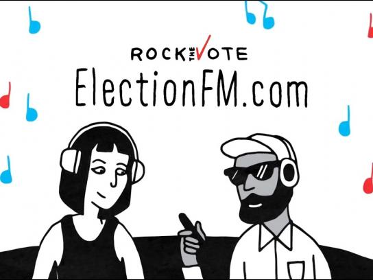 Rock the Vote Digital Ad - Election FM