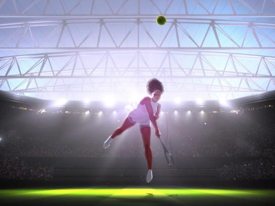 Wimbledon Film Ad - In Pursuit of Greatness: Take On History