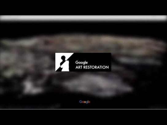 Google Digital Ad - Google art restoration