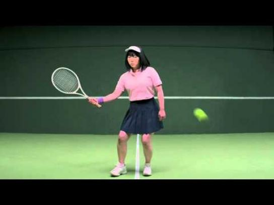 United States Tennis Association Digital Ad -  Tennis makes you invincible