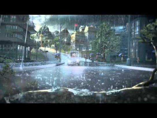 Michelin Film Ad -  Rain