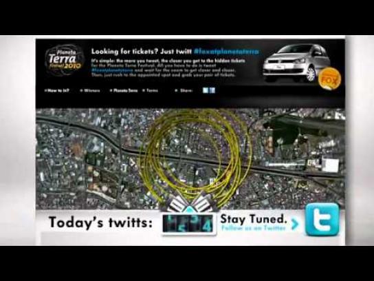 Volkswagen Digital Ad -  Twitter Zoom