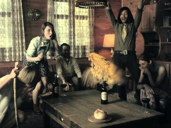 Andes Film Ad -  The Miraculous Hen