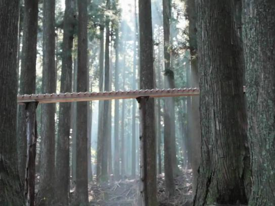 DoCoMo Film Ad -  Forest Xylophone