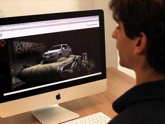 Volkswagen Digital Ad -  Automatic Amarok Website