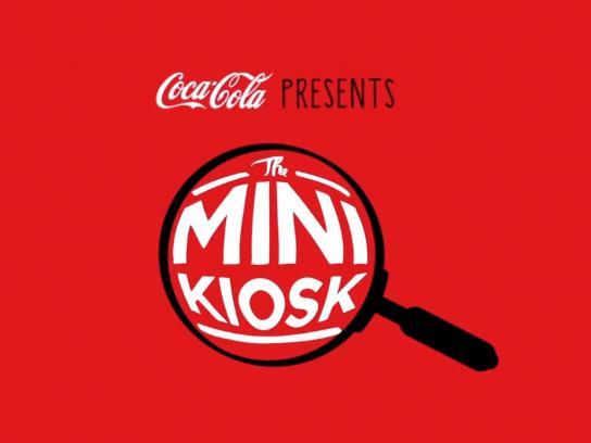 Coca-Cola Outdoor Ad -  Mini kiosk