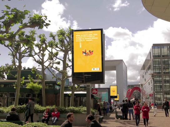 IBM Ambient Ad -  Roland-Garros