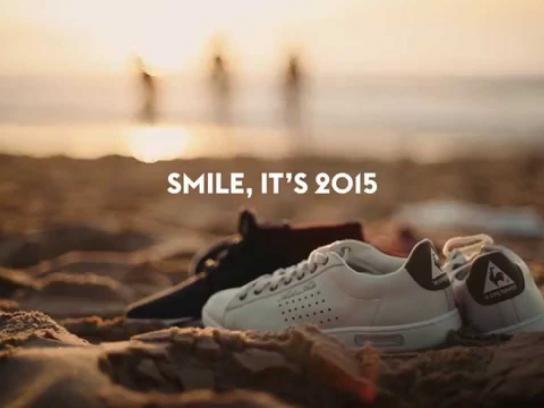 le coq sportif Film Ad -  Smile, it's 2015