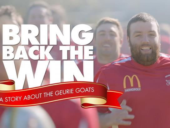 McDonald's Ambient Ad -  Bring back the win
