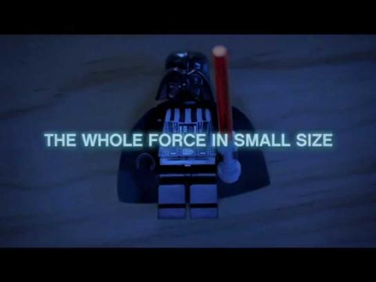 Lego Film Ad -  The whole force in small size