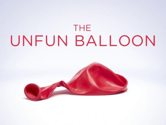 Ontario Lung Association Film Ad - The Unfun Balloon
