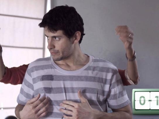 Patio Olmos Film Ad -  Arms