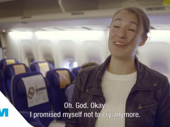 KLM Digital Ad -  Cover greetings