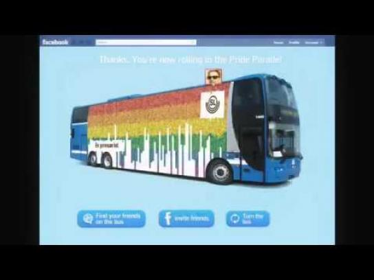 SL Ambient Ad -  Pride 2011 - Our Proudest Bus Ever