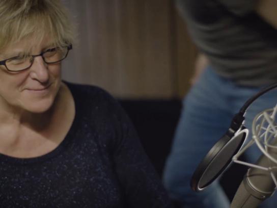Alzheimer's League Flanders Film Ad - Ingrid