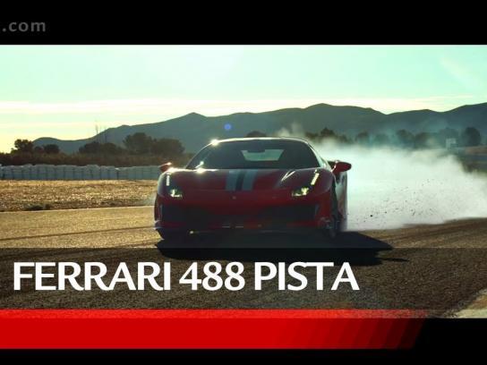 Ferrari Film Ad - Ferrari 488 Pista