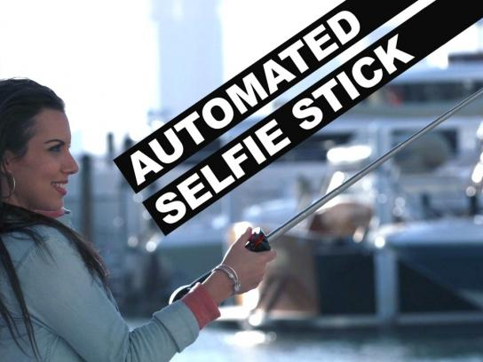 unReal Digital Ad - Automated selfie stick