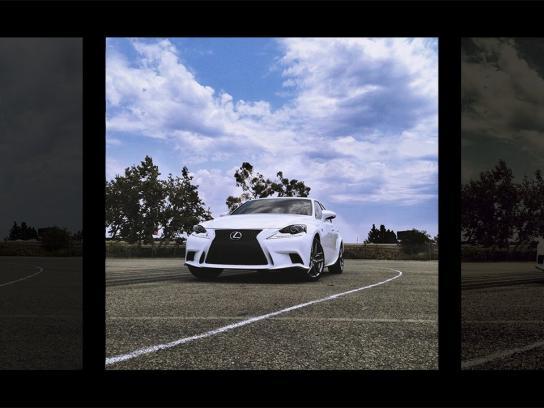 Lexus Ambient Ad -  #LexusInstafilm