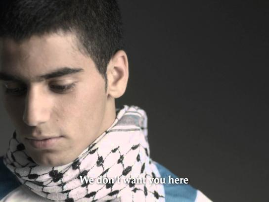 Palestinian Israeli Bereaved Families for Peace Digital Ad -  We don't want you here