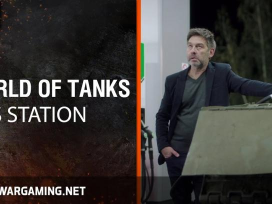 World of Tanks Film Ad - Gas Station