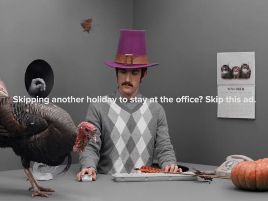 Flights.com Film Ad - Thanksgiving