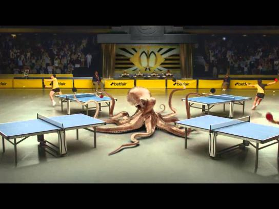 Betfair Film Ad -  Octopus