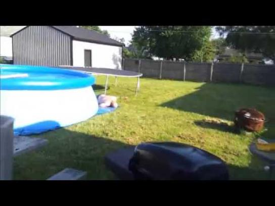 Sip'n Save Film Ad -  Fail - Trampoline