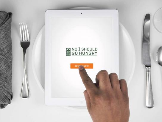 Greater Chicago Food Depository Digital Ad -  Pass the plate