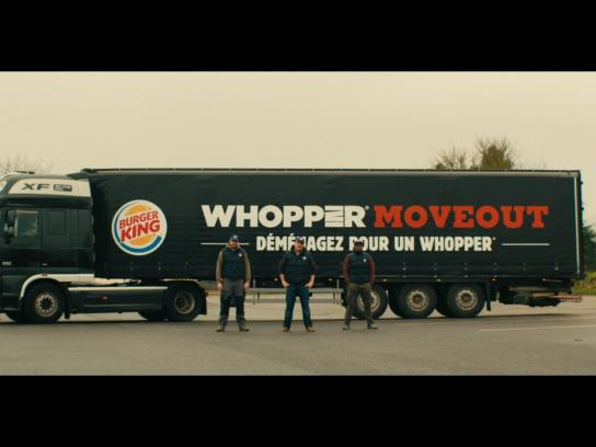 Burger King Digital Ad -  Whopper Move Out