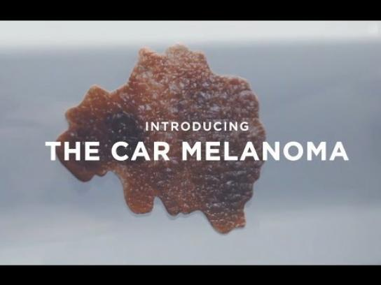 Cancer Association of South Africa Experiential Ad - Car Melanoma