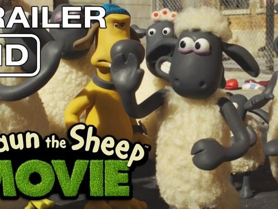 Shaun the Sheep Film Ad -  The new flock on the block